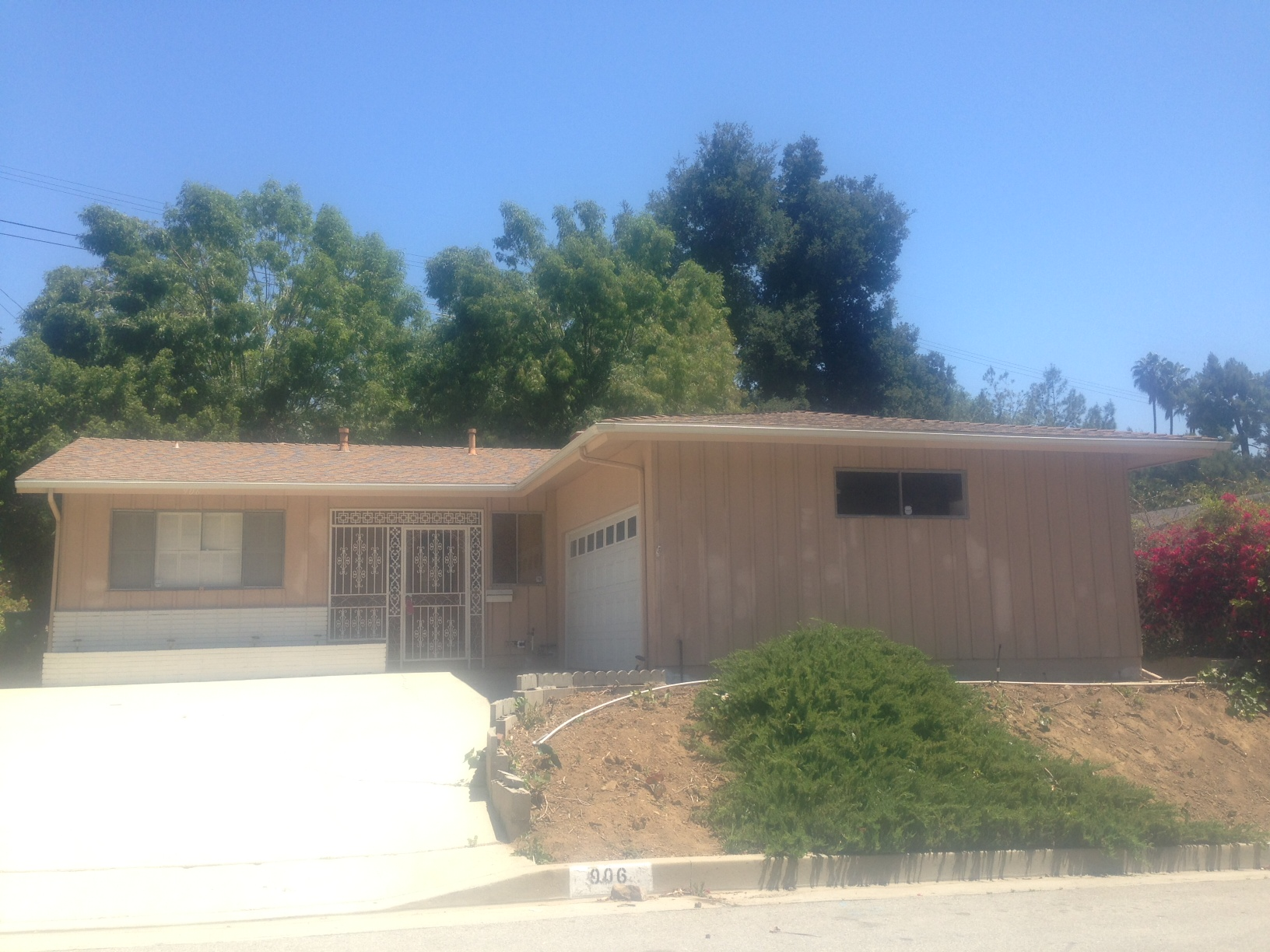 Mid century ranch arroyo view estates post and beam for Post and beam ranch homes